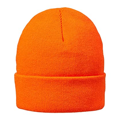 4438a4953a8 Amazon.com  Hot Shot Men s Acrylic Cuff Cap Thinsulate Knit Hat ...