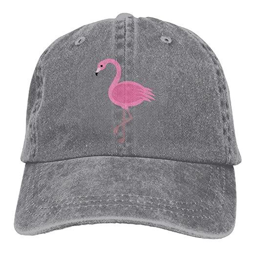 Cartoon Animal Flamingo in Pink Trend Printing Cowboy Hat Fashion Baseball  Cap for Men and Women 3405178dbb98