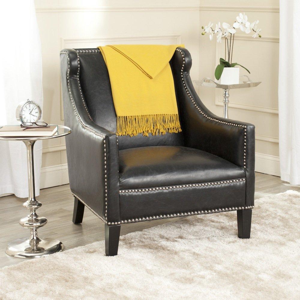 Amazing Amazon Com Safavieh Mercer Collection Mckinley Club Chair Inzonedesignstudio Interior Chair Design Inzonedesignstudiocom