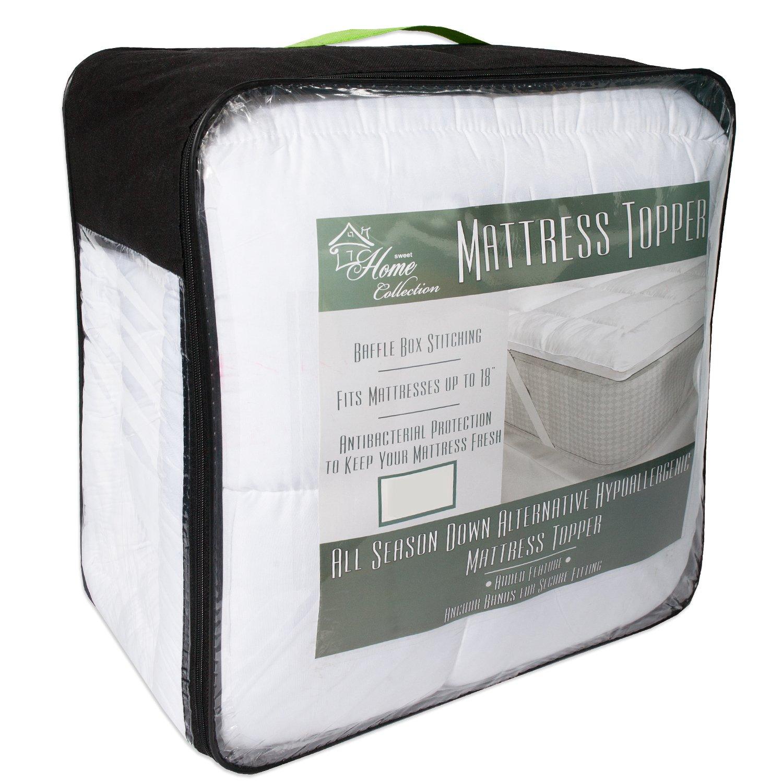 amazon com hypoallergenic polyester down alternative fiber bed