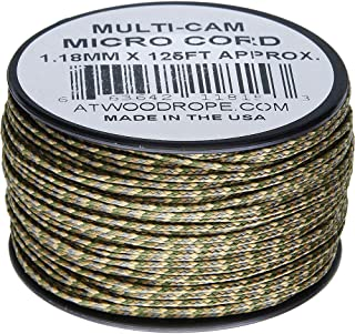 product image for Atwood Rope MFG Micro Cord 125ft Multi-Cam