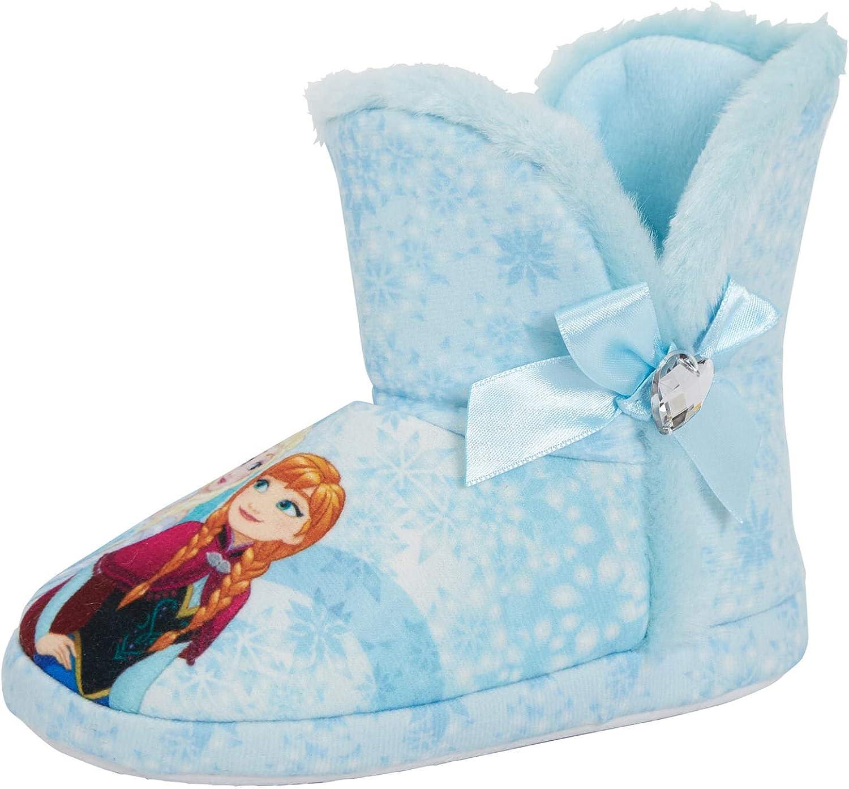 Disney Frozen 2 Anna /& Elsa Nature est Magique Filles Chaussons de caract/ères
