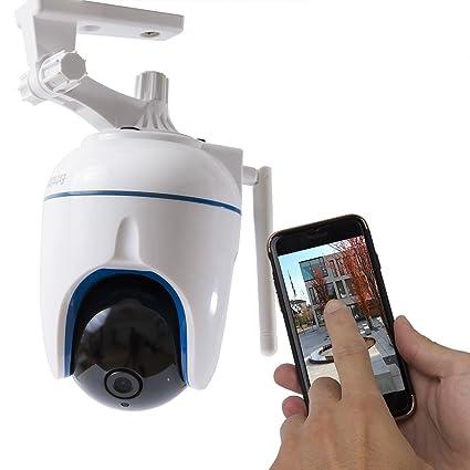 Extra Star® HD cámara IP Vigilancia giro Bar Visión Nocturna grabación de sonido Manos Detector