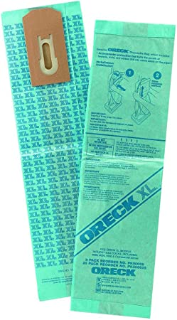 Oreck XL Brand Commercial Line Upright Vacuum Disposable 6 Bags