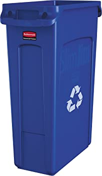 Rubbermaid 23 Gallons Commercial Slim Jim Recycling Container