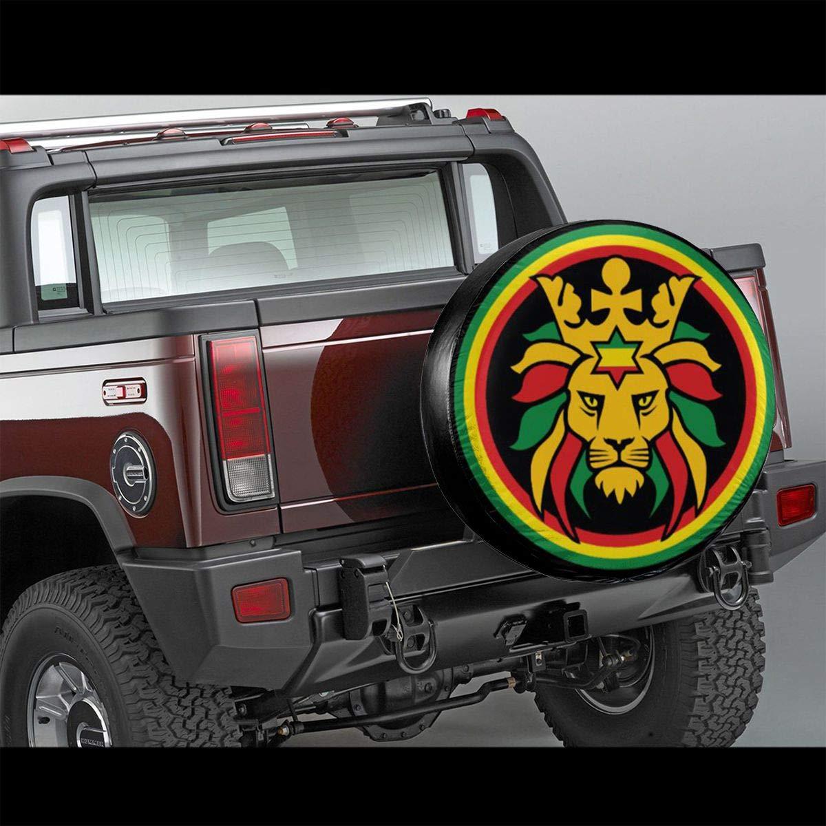 Rasta Car Auto Tire Cover Wheel Tyre Protector Diy Accessories