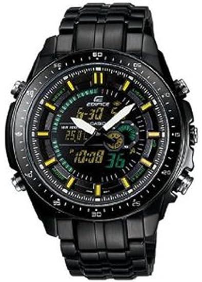 449016aa7cd1 Casio efa132bk-1av CS efa132bk-1av - Reloj de pulsera de mujer  Amazon.es   Relojes