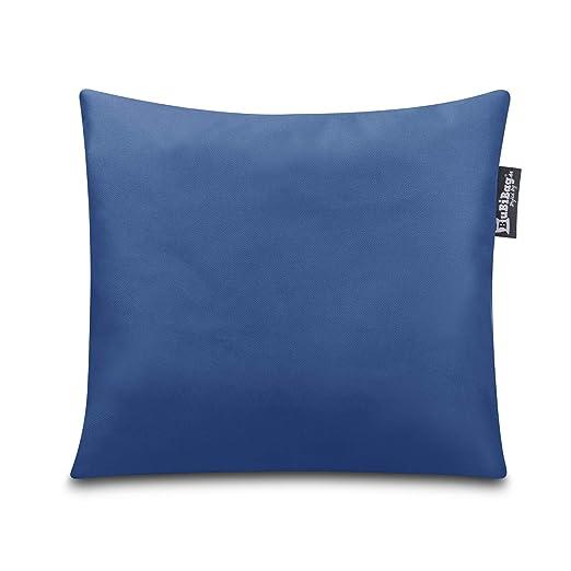 BuBiBag - Cojín Decorativo en 32 Colores y 3 tamaños, Azul ...