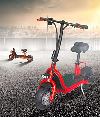 E Scooter Electrico con Asiento Alta Potencia 800W Patinete ...