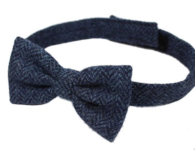 Tweed Bow Tie Herringbone 100% Wool $29.95 AT vintagedancer.com
