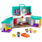 Fisher-Price Little People Big Helpers Home Playset, Multi Color