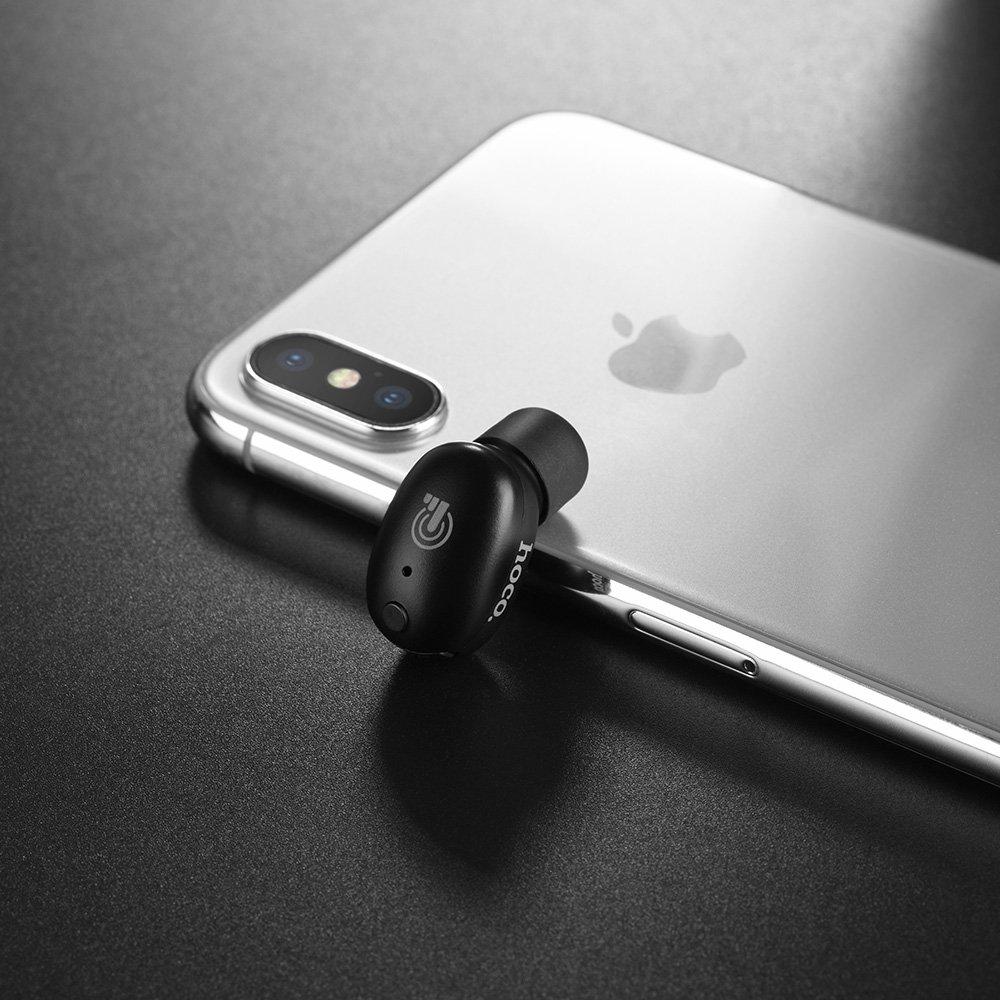 Pinhen Mini Auriculares Bluetooth HOCO Bluetooth 4.1, auriculares inalámbricos invisibles para coche, manos libres, auriculares con micrófono para iPhone y ...