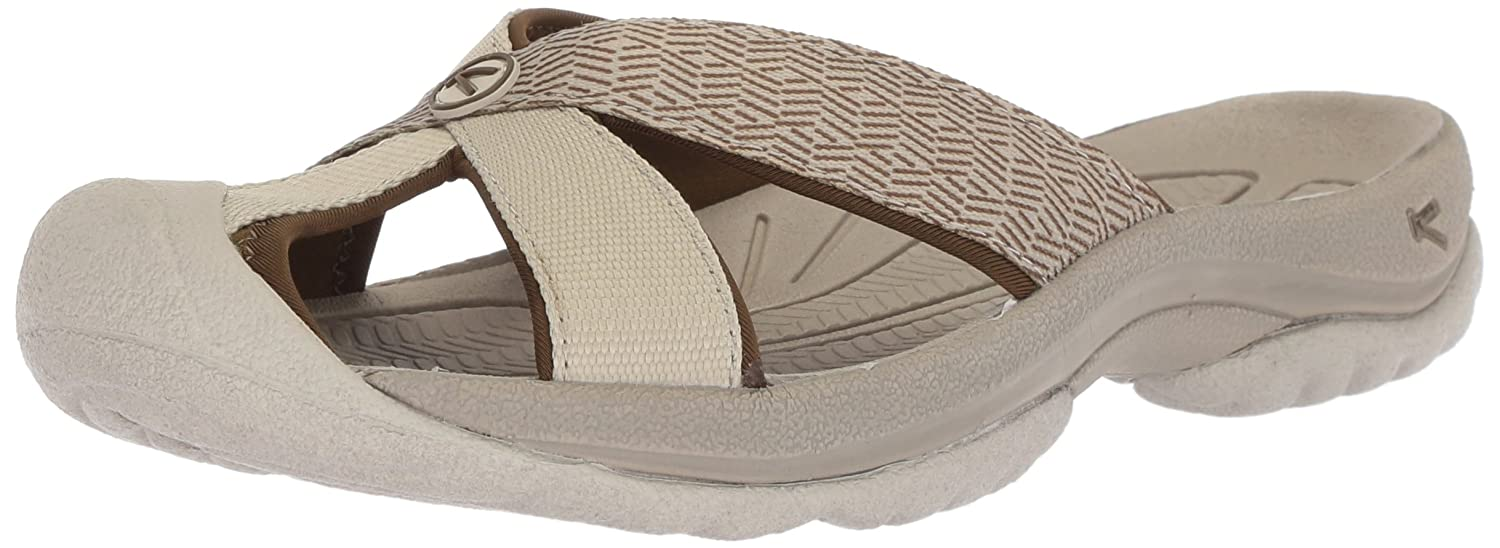 KEEN Women's Bali Sandals B06ZZX94VG 8 B(M) US|Agate Grey/Dark Olive