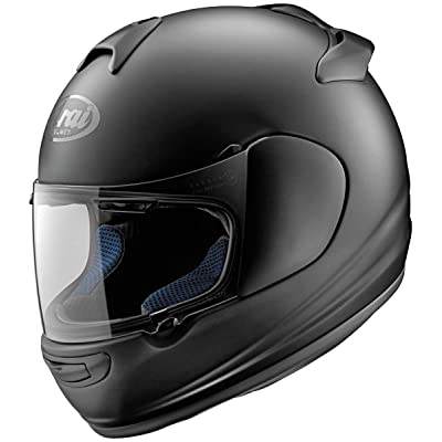 Arai Vector-2 motorcycle helmet in matte black.