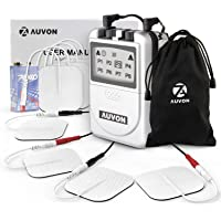 Auvon TENS Unit Muscle Stimulator with Superior Quality and Proven Effectiveness