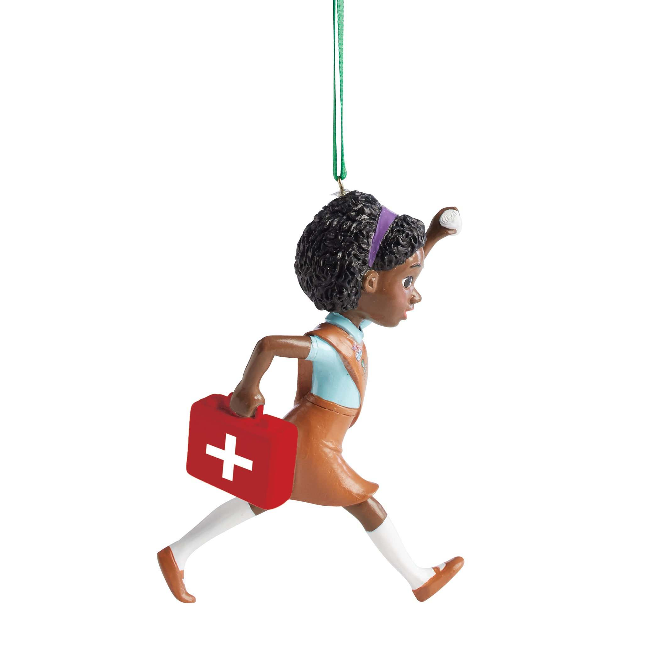Department 56 Girl Scouts Brownie First Aid Hanging Ornament