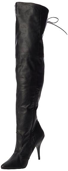 Pleaser LEGEND-8899, Bottes Classiques FemmeNoir (Blk Faux Leather)41 EU