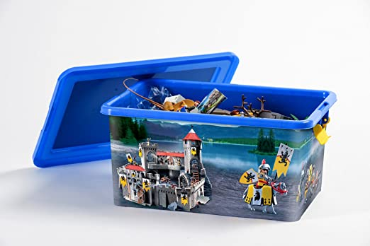 Playmobil Caja de plástico 23L Caballeros: Amazon.es: Hogar