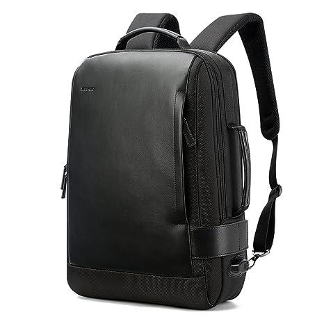 MUGUCHEN Mochila, mochila de portátil de seguridad empresarial mochila de viaje impermeable de los hombres