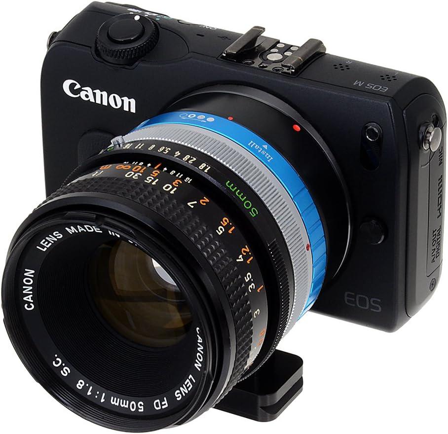 Olympus OM Zuiko Lens to EOS-M Camera Body Fotodiox Lens Mount Adapter