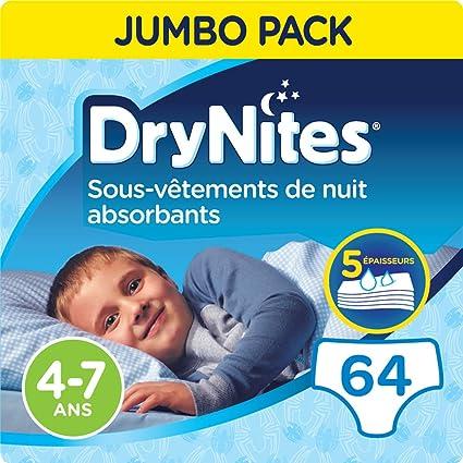 30/culottes 4/–7/ans Huggies DryNites Culottes de nuit pour filles