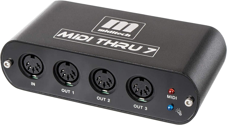 Miditech MIDI thru 7 v2