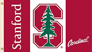 BSI PRODUCTS, INC. Stanford University Cardinals Grommet Flag College Licensed 3' x 5'