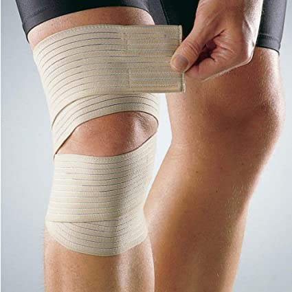 Amazon Com Beige 1 Pc Elastic Bandage Tape Sport Knee Support