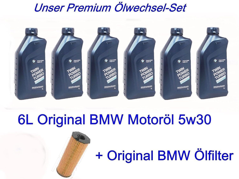 6L Original BMW 5 W30 Longlife - Aceite de 04 1 E81 E87 W60 X3 E90 118 120 320 520 D: Amazon.es: Coche y moto