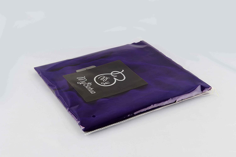 MyBatua 3 capas saudi niqab en georgette transpirable 1 pieza velo de cara NQ-003 precio al por mayor
