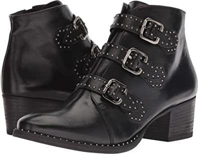 c26397523fa4b Amazon.com: Paul Green Women's Soho Boot Black Leather 6 M US M: Shoes