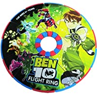 WP Ben 10 Magical Unfold Flying Disk / Ring Frisbee for Kids Outdoor Games