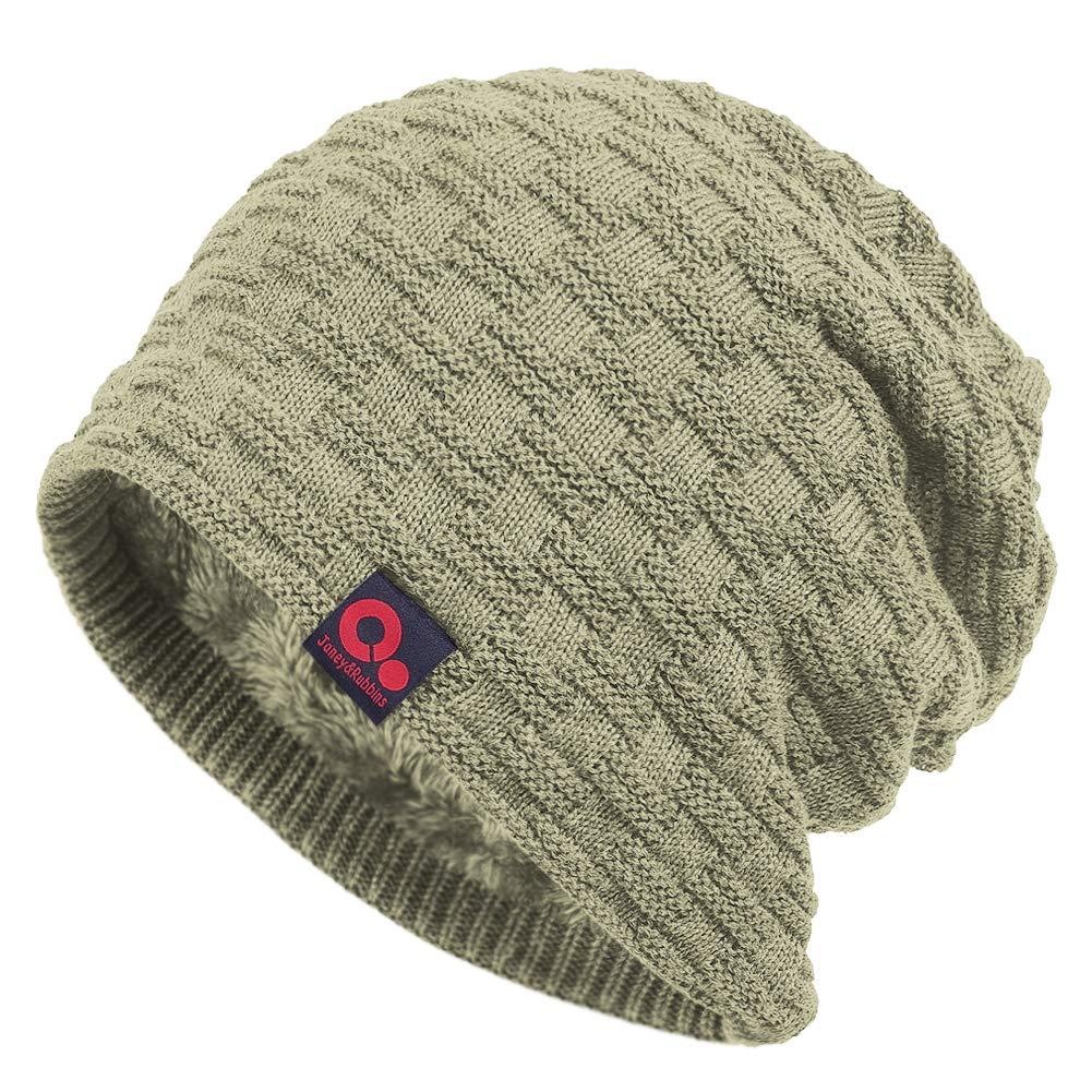 f5062e91b Janey&Rubbins Fall Winter Thick Knit Oversize Slouchy Beanie Hat ...