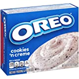 Jell-O Oreo Cookies 'n Creme Instant Pudding & Pie Filling Mix, 4.2-Ounce Box
