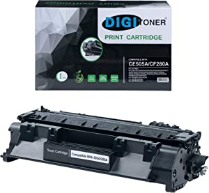 TonerPlusUSA New Compatible CE505A 05A Black Replacement Toner Cartridge for Laser Jet P2035 P2035n P2050 P2055x P2055dn (Black, 1 Pack)