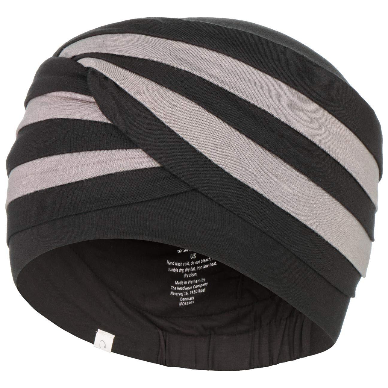 5c4dddfdbeb Chemo turban in bamboo viscose - Shanti black and brown  Amazon.co.uk   Clothing