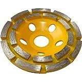 AERZETIX - Disque diamant à poncer 110mm 22.23mm assiette pour meuleuse 115mm béton pierre brique surfaçage façonnage C15772