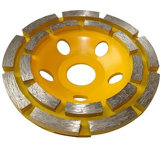 3 opinioni per Aerzetix- Disco diamantato a levigare 110 mm 22.23 mm per smerigliatrice 115 mm