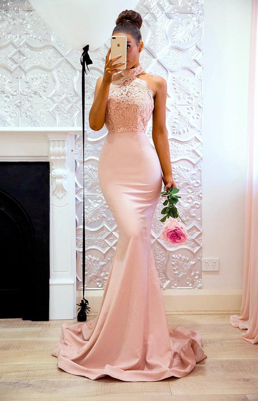 Amazon.com: Sweet Bridal - Vestido largo para mujer, diseño ...
