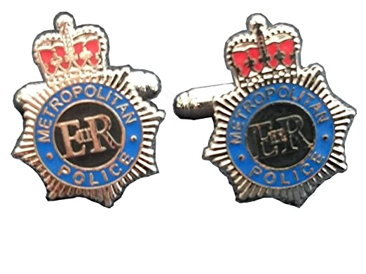 police cufflinks uk