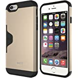 MTT Golf Fit Shock Proof Premium Case for iPhone 6S / 6 (GOLD)