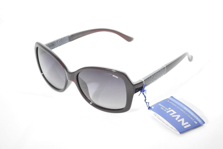 Gafas de sol polarizadas INVU B 2603 C Burdeos polarizadas 100% UV Block Sunglasses Polarized: Amazon.es: Deportes y aire libre