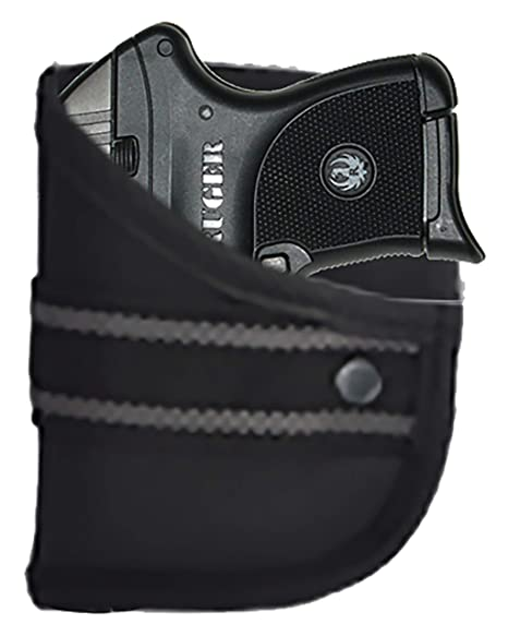 Garrison Grip Custom Fit Woven Pocket Holster Fits Ruger LCP 380 w/Lasermax  (W2)
