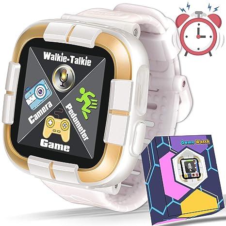 Amazon.com: Kids Game Smart Watch,[Walkie Talkie Edition ...