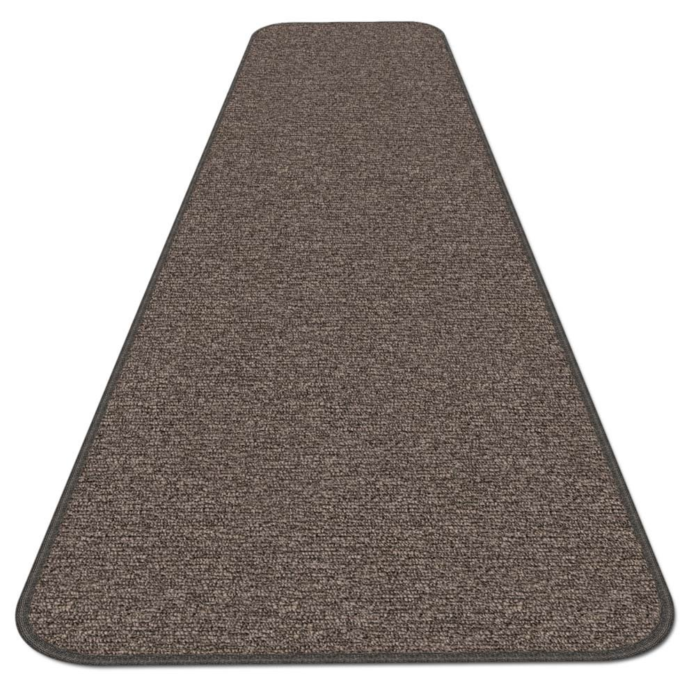 House, Home and More Skid-resistant Carpet Runner - Pebble Gray - 4 Ft. X 27 In. - Many Other Sizes to Choose From