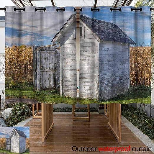 Sunnyhome Cortina para Puerta corredera con diseño de árboles de Olivo Antiguos, Simple y Elegante: Amazon.es: Jardín