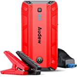 Audew Jump Starter,1500A Peak 17200mAh Portable Jump Starter (Up to 8L Gas or 6L Diesel Engine),12V Auto Battery Booster…