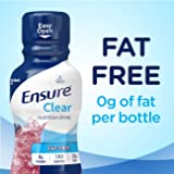 Ensure Clear Nutrition Drink, 0g fat, 8g of