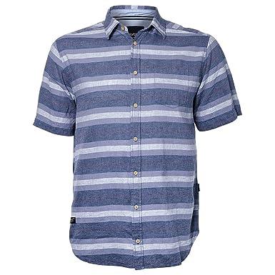 Norte 56°4 Camisa de Lino de Manga Corta Denim Lavanda XXL, 2xl ...