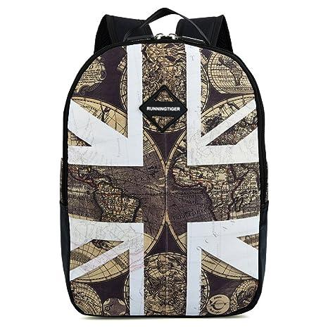 5ab5dea861b2 Amazon.com  Vbiger School Backpacks Laptop Backpack 14 Inch Waterproof for  Kids (Earth Map)  VBIGER